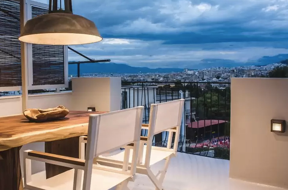 Acropolis Luxury Apartments terrasse